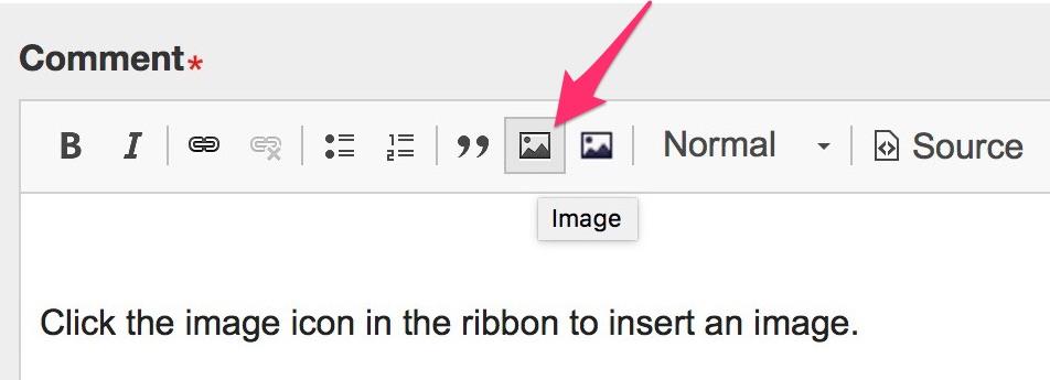 Insert an image
